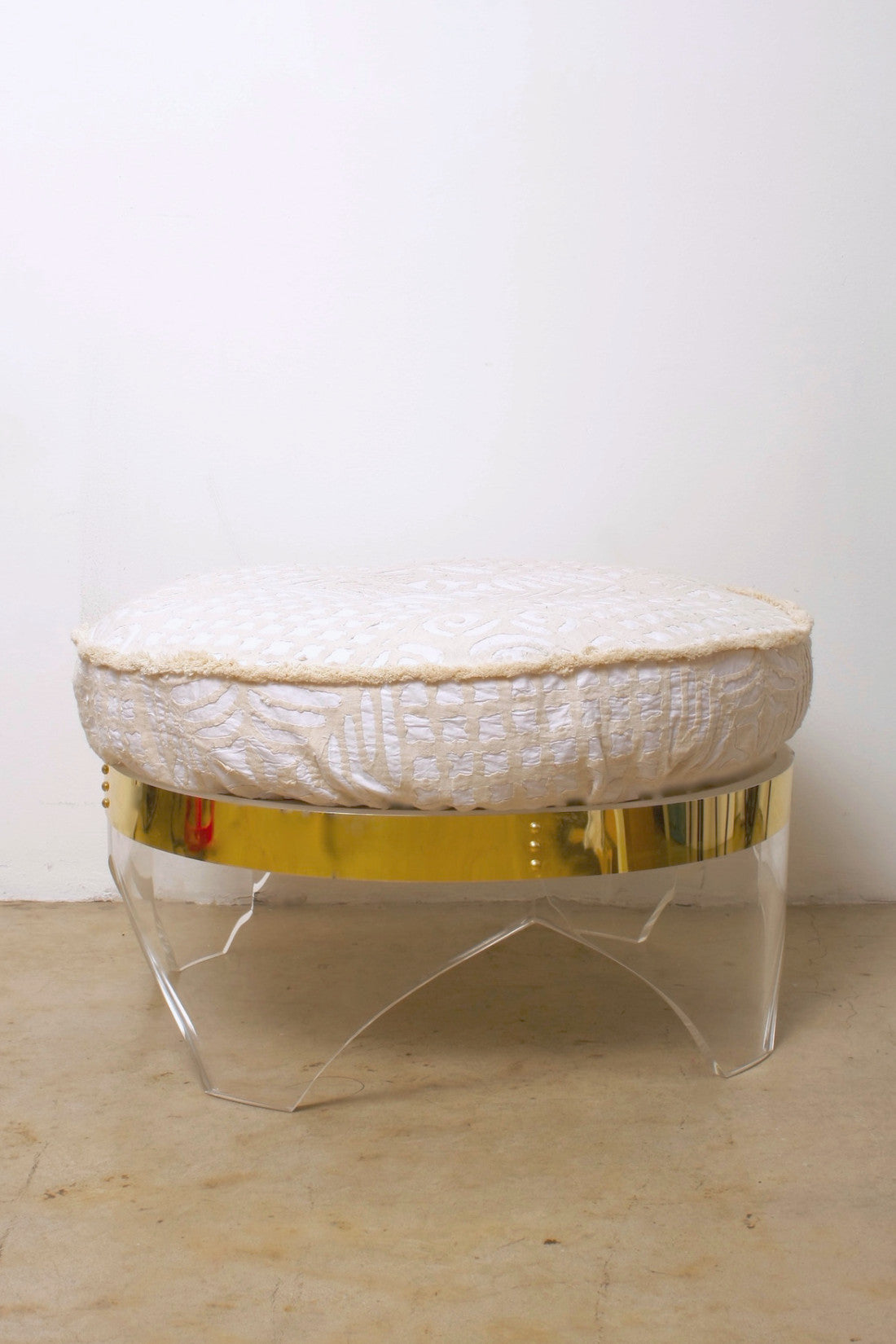 "Moroccan Inspired 30"" Ottoman"
