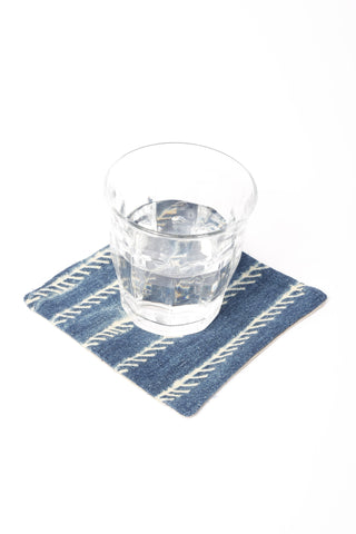 Indigo Drink Coasters Set 4