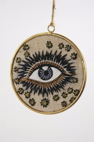 Seeing Eye Small Disk Ornament