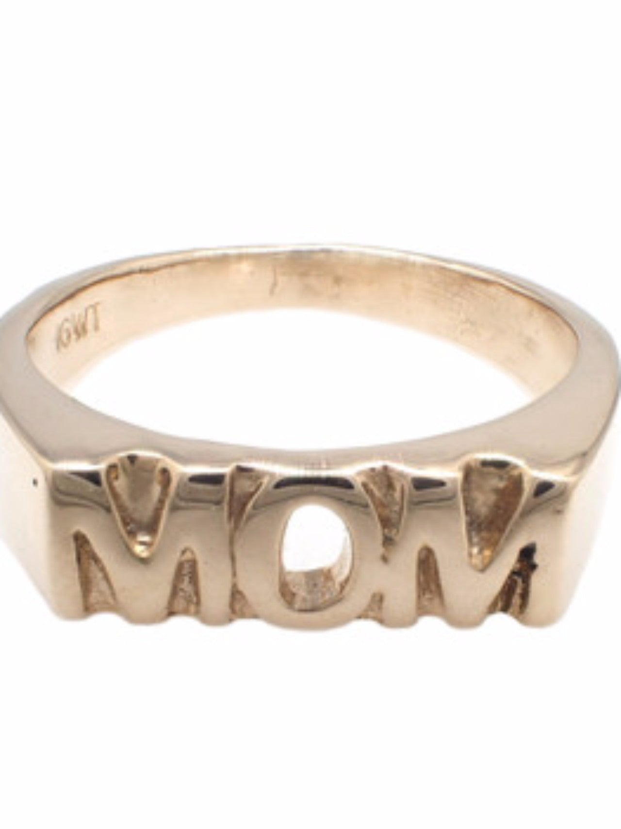 "IGWT ""MOM"" Gold Ring"
