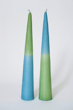 NíLE 2 Tone candle set of 2