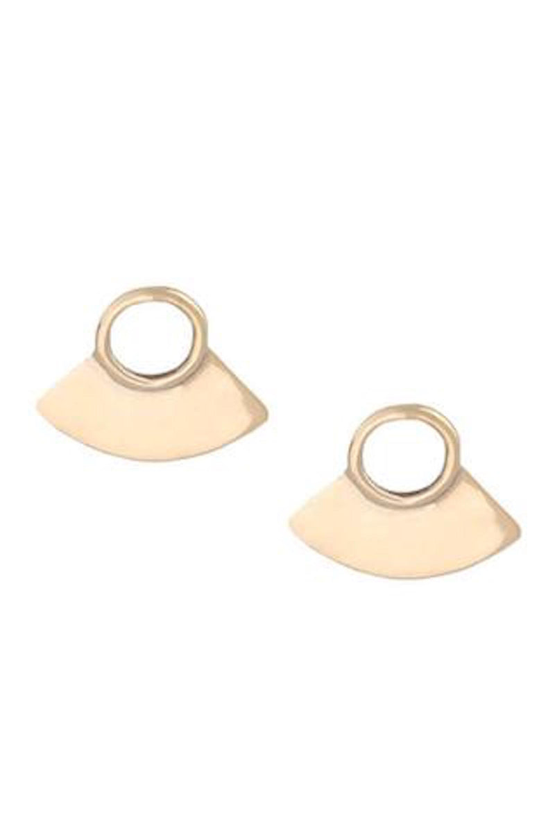 Small Paddle Earring