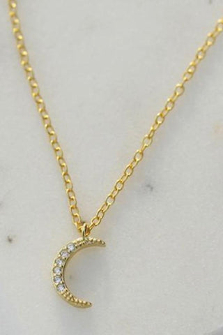 Single Snake Pendant Necklace