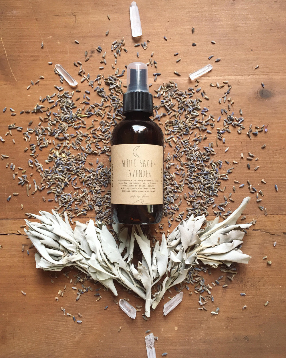 Ebb and Flow by Ty White Sage Lavender spray