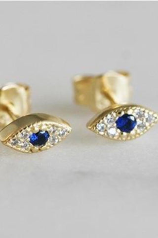 Seeing Eye Stud Earrings