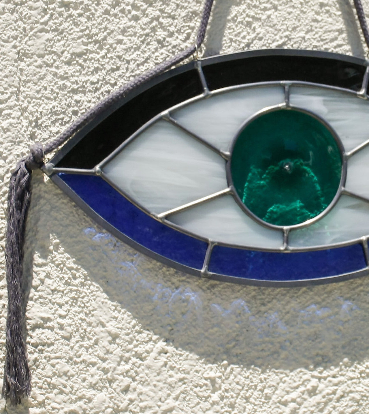 Seeing Eye stained glass
