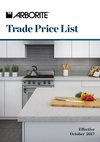 Trade Price List - March 2018