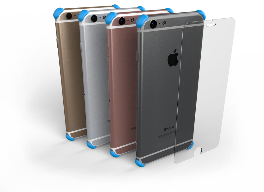 V3 EDGE Protectors and GLASS for iPhone 7, 6 Plus, and 6