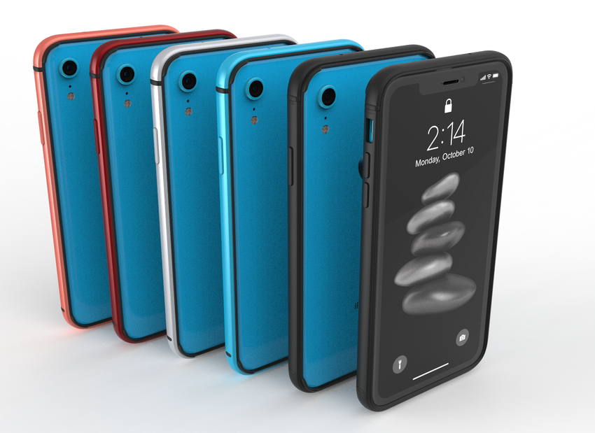 METAL BUMPER for iPhone XR