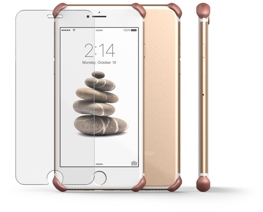 EDGE Protectors and GLASS for iPhone 7/6 Plus and 7/6