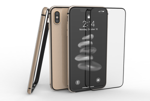 METAL BUMPER and GLASS for iPhone X/Xs