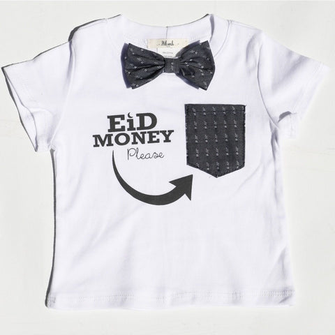 Eid Money Please T-shirt - Toddler - Hilwah