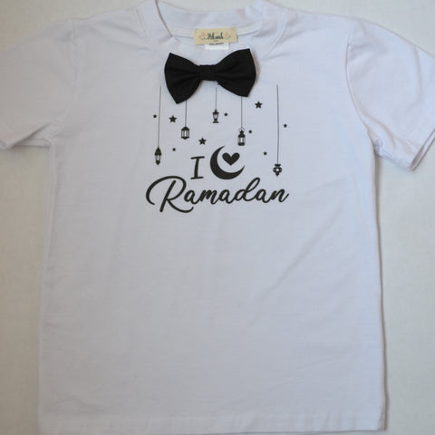 """I love Ramadan"" Boy T-shirt - Hilwah"