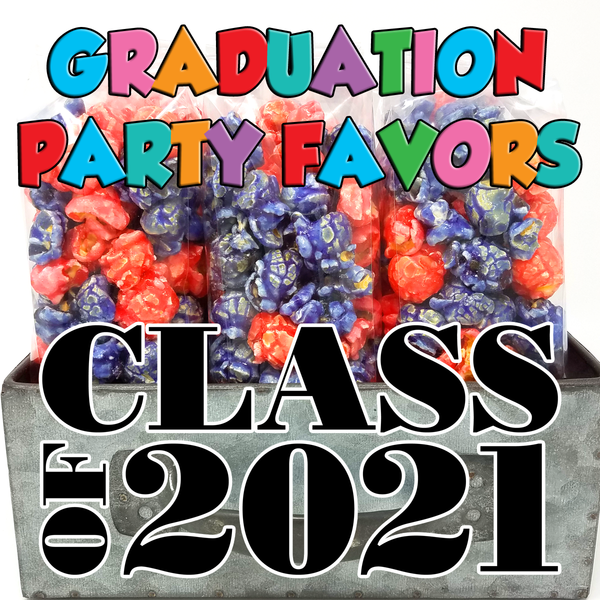 Graduation Popcorn Party Favor Bags
