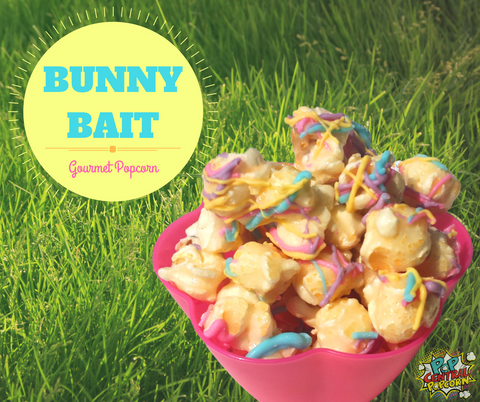 Bunny bait just in time for easter pop central popcorn our mini size bags are perfect for handing out as gifts school teachers dance sunday school coaches your bunny bait gift will definitely be a hit negle Image collections