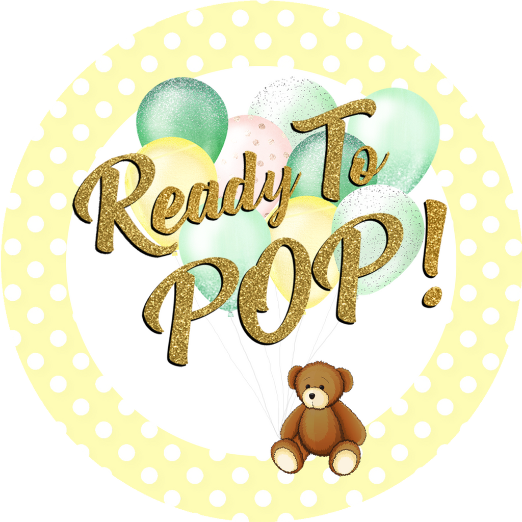 Ready To Pop Gender Neutral Baby Shower Favors Pop Central Popcorn