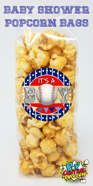 Baseball - It's A Boy - Baby Shower Favors