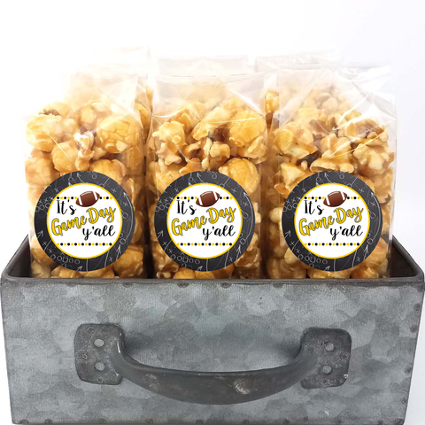 Black and Gold - School Spirit Popcorn Bags