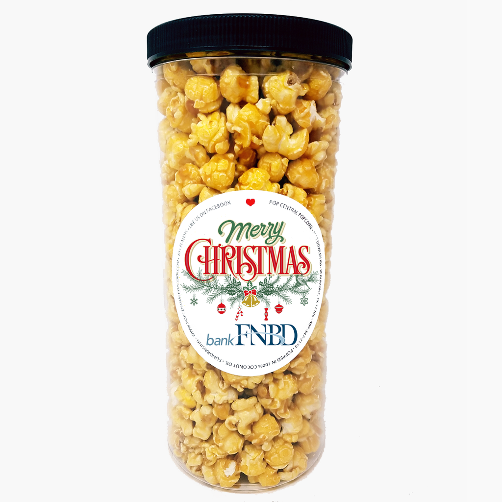 Popcorn Tubes - Custom Logo Labels