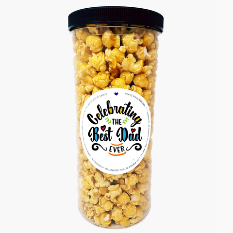 Father's Day Popcorn Tube - Celebrating the Best Dad Ever