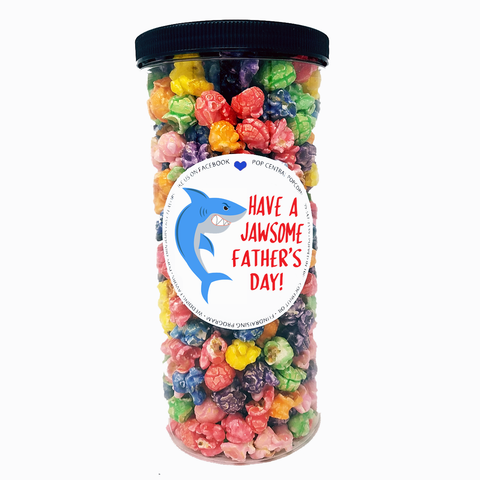 Father's Day Popcorn Tube - Shark