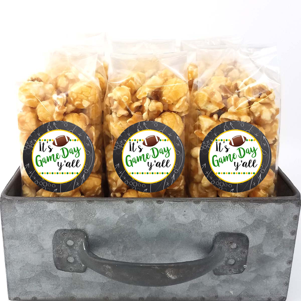 Green and Gold - School Spirit Popcorn Bags