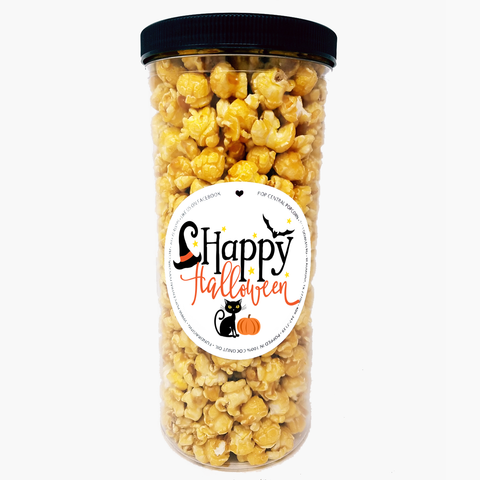 Happy Halloween Popcorn Tube