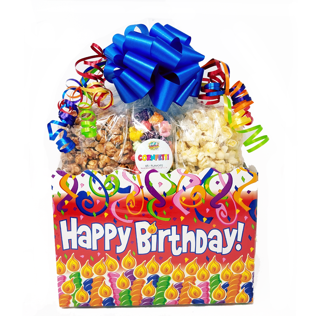 Happy Birthday Gift Basket - Large