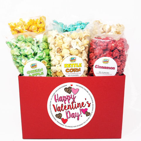 Happy Valentine's Day - Variety 6 Pack - Mini Bags