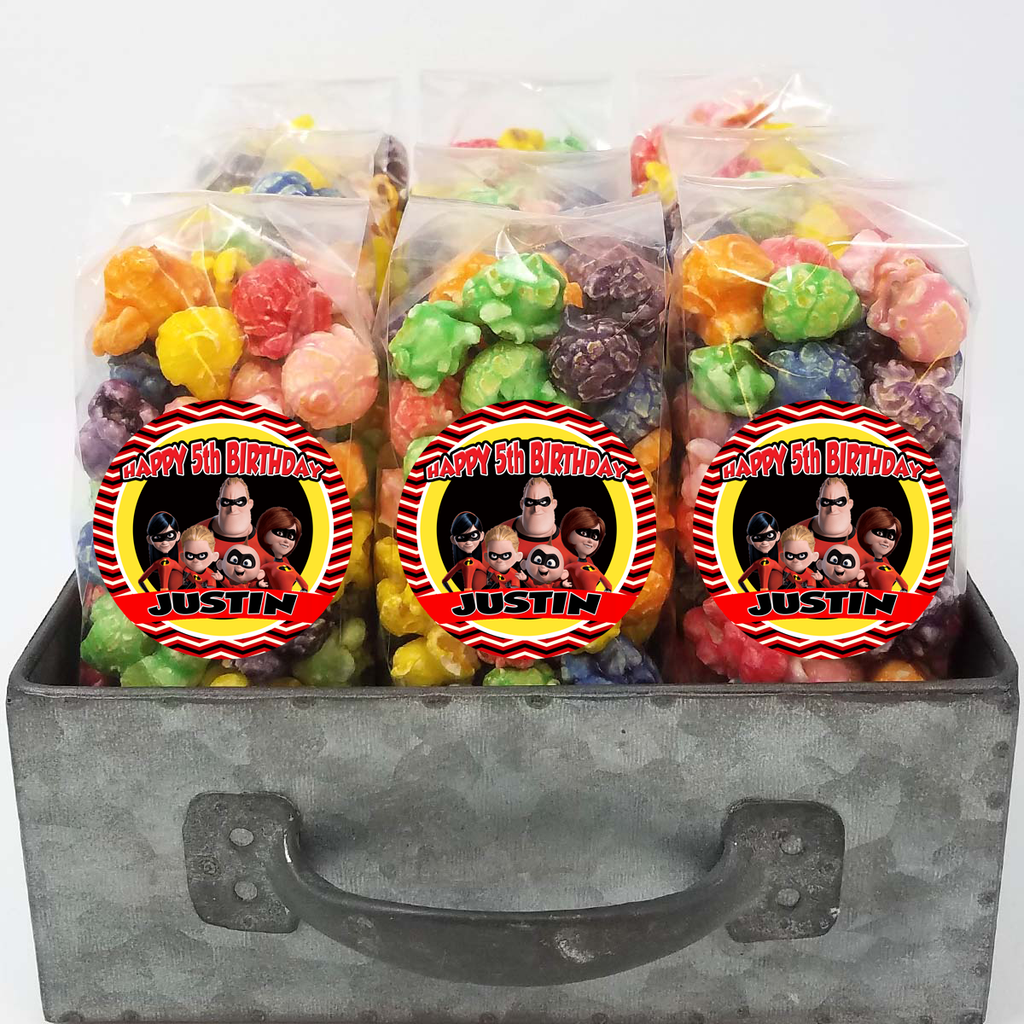 Incredibles Popcorn Party Favors