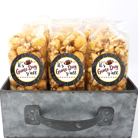Maroon and Gold - School Spirit Popcorn Bags