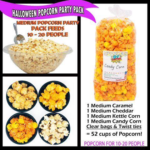 Halloween Party 4 Pack - Medium