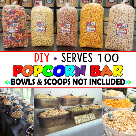 Popcorn Bar- DIY- Serves 100