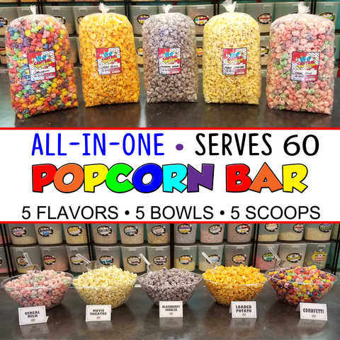 Popcorn Bar-All in One- Serves 60
