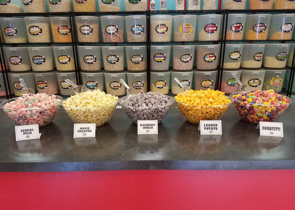 Popcorn Bar- All in One- 60 servings