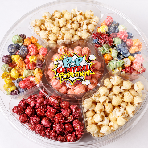 """Movie Night"" Popcorn Party Tray"
