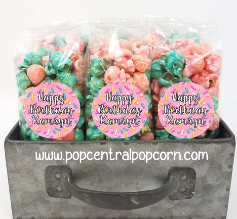 Pink Sprinkles Party Favor Bags