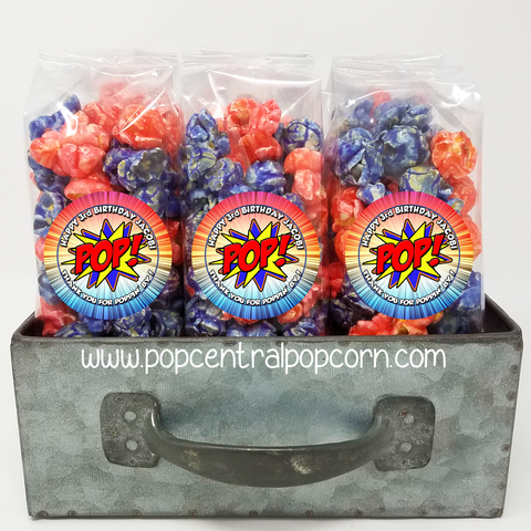 Superhero - Popcorn Party Favor Bags