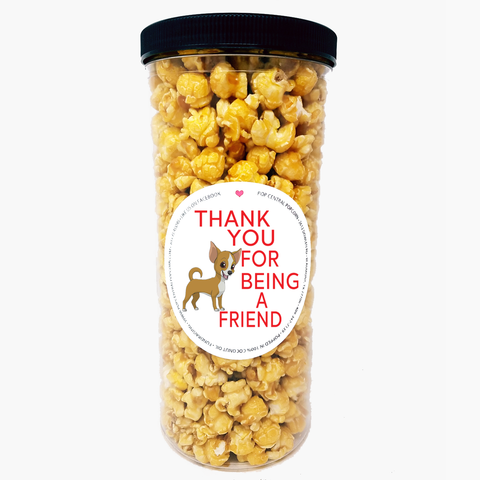 Thank You For Being a Friend - Popcorn Tube