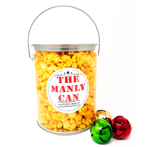 1 Gallon - The Manly Can - Popcorn Can