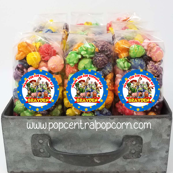 Buzz Toy popcorn party favors