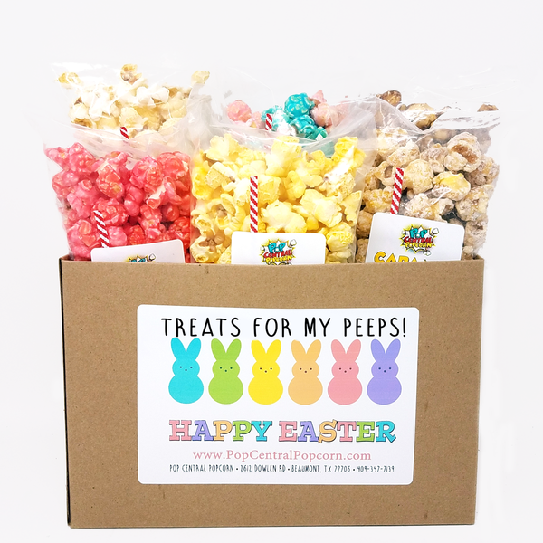 Treats for my Peeps - Easter Popcorn