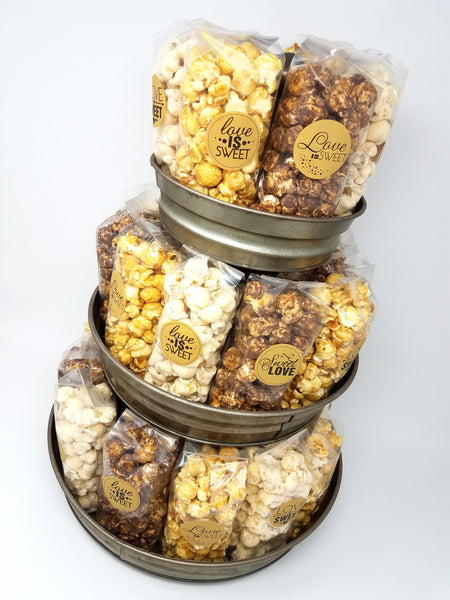 Kraft Wedding Popcorn Favors
