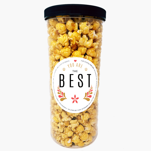 You Are the BEST - Popcorn Tube