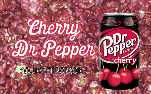 Cherry Dr.Pepper Popcorn