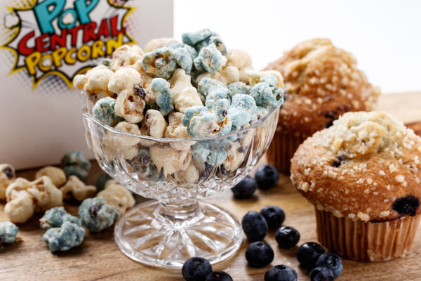 Blueberry Muffin Popcorn