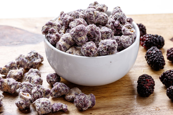 Blackberry Cobbler Popcorn
