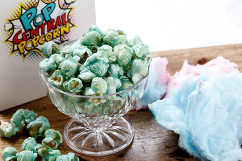 Cotton Candy (Blue Raspberry) Popcorn