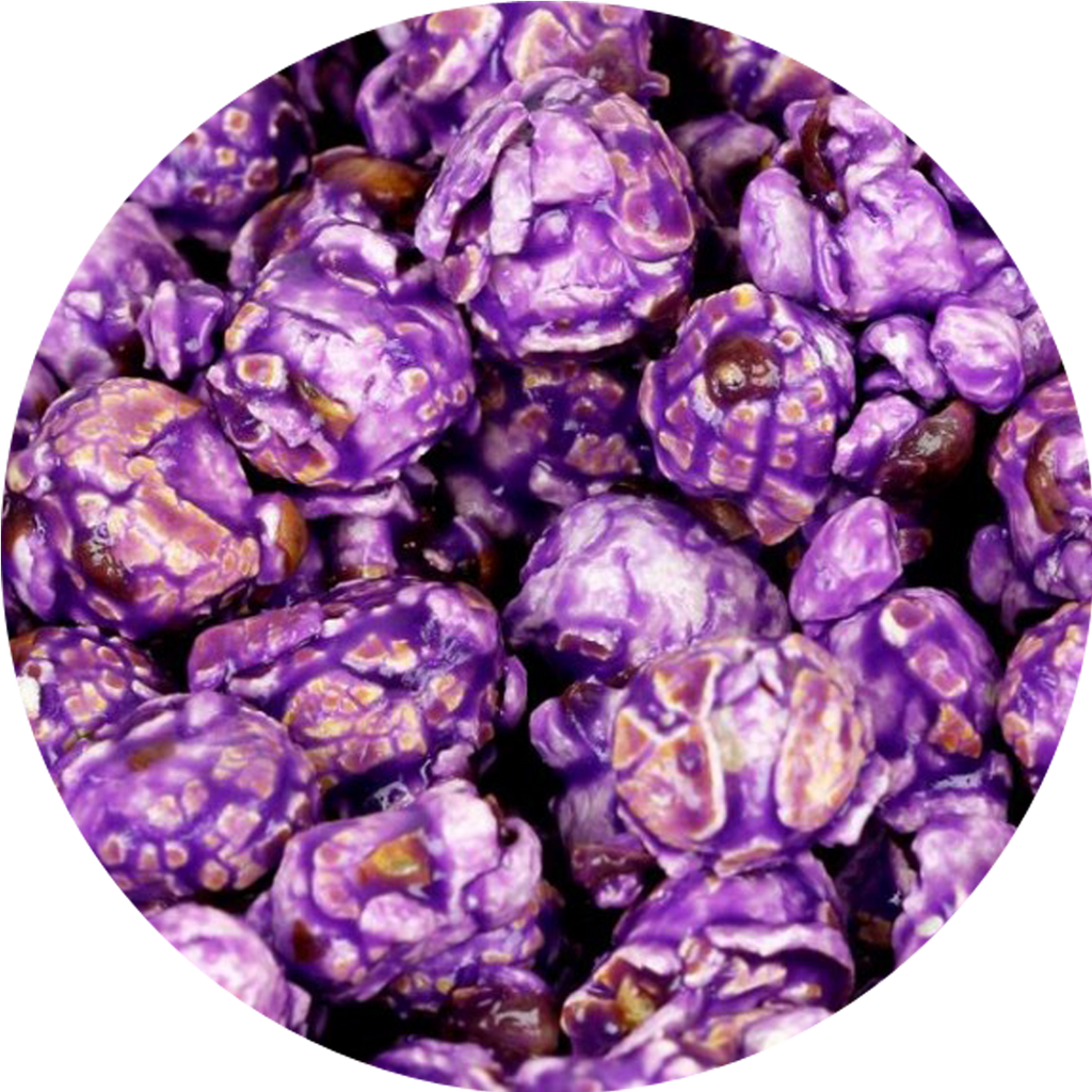 Purple Cotton Candy Popcorn