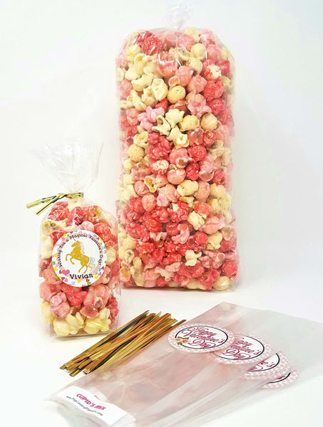 Valentine DIY Popcorn Set - Sweet Valentine Wishes